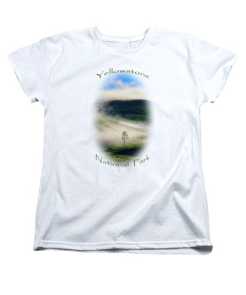 Yellowstone T-shirt Women's T-Shirt (Standard Cut) by Greg Norrell
