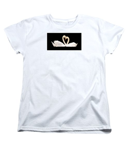 Young Love Women's T-Shirt (Standard Cut) by Cathy Donohoue