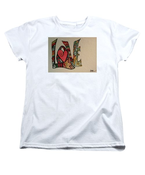 Your Big Heart Women's T-Shirt (Standard Cut) by Claudia Cole Meek