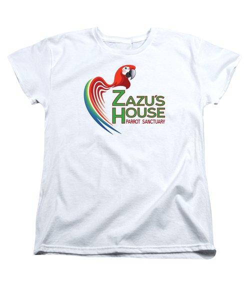 Zazu's House Parrot Sanctuary Women's T-Shirt (Standard Cut) by Zazu's House Parrot Sanctuary
