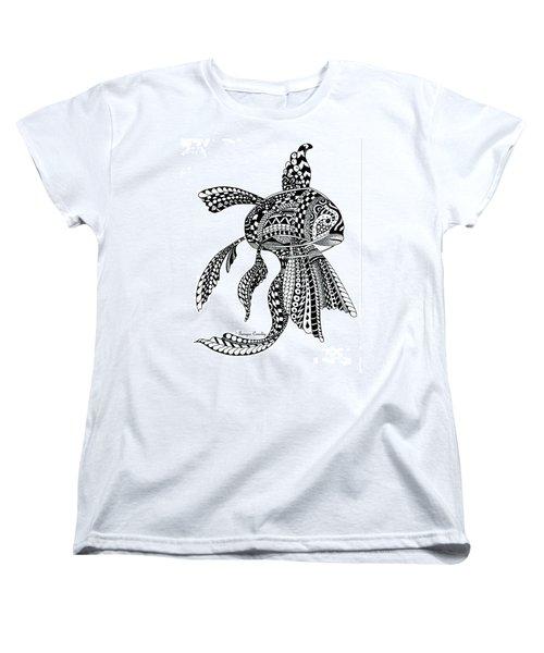 Zen Goldfish Women's T-Shirt (Standard Cut)