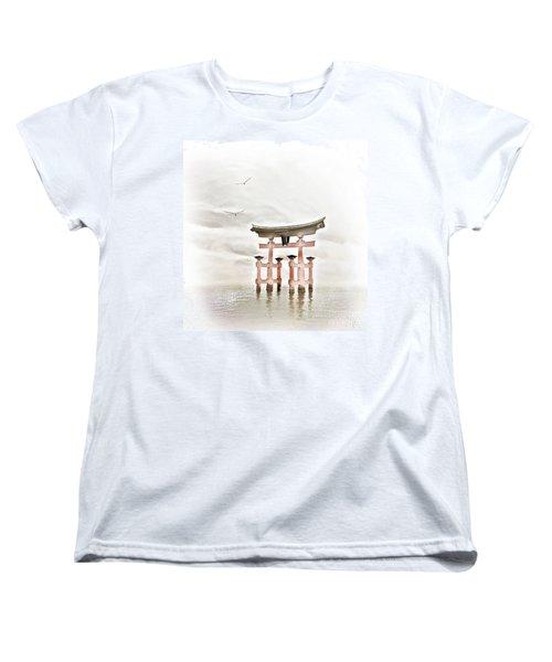 Zen Women's T-Shirt (Standard Cut) by Jacky Gerritsen