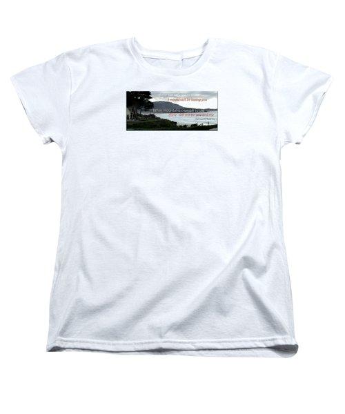 Women's T-Shirt (Standard Cut) featuring the photograph Zeppelin Gratitude by David Norman