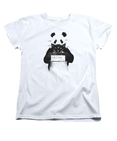 Bad Panda Women's T-Shirt (Standard Fit)