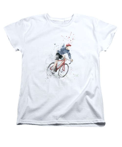 I Want To Ride My Bicycle Women's T-Shirt (Standard Fit)