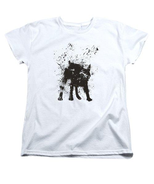 Wet Dog Women's T-Shirt (Standard Fit)