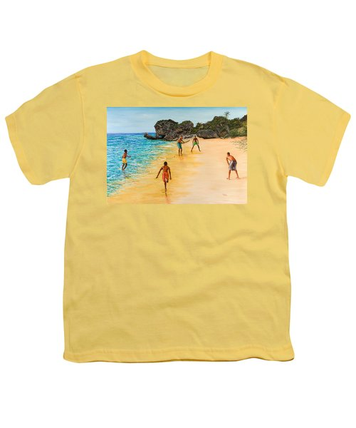 Beach Cricket Youth T-Shirt