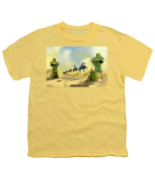 Dali On The Move  Youth T-Shirt by Mike McGlothlen