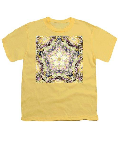 Digmandala Simha Youth T-Shirt by Derek Gedney
