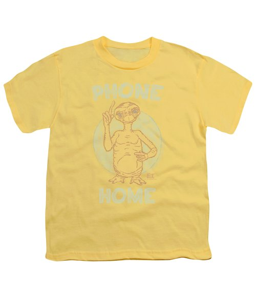 Et - Phone Youth T-Shirt