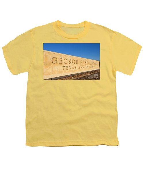 George H. Bush Library, Texas Youth T-Shirt