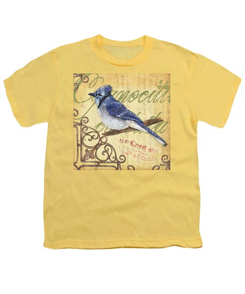 Pretty Bird 4 Youth T-Shirt by Debbie DeWitt