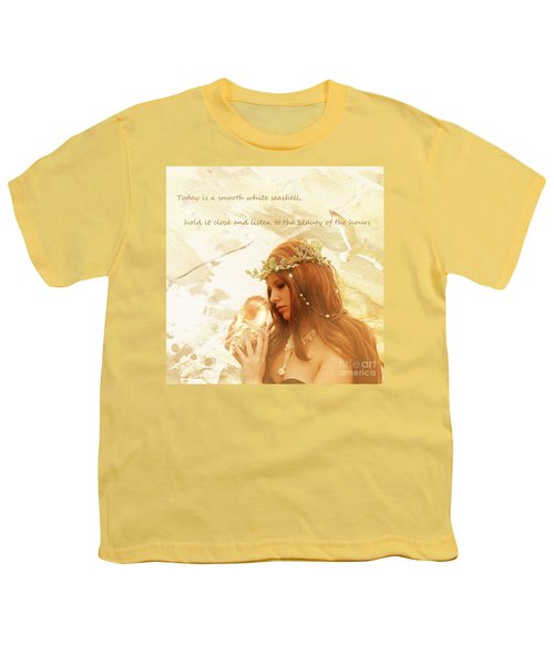 Sounds Of The Sea Youth T-Shirt by Linda Lees