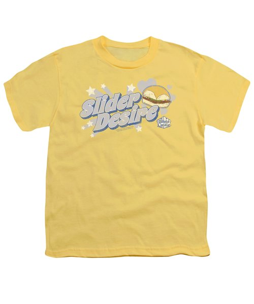 White Castle - Slider Desire Youth T-Shirt by Brand A