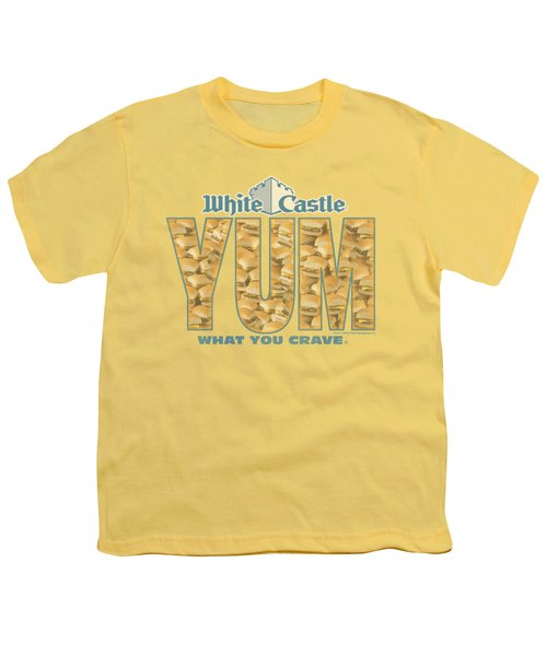 White Castle - Yum Youth T-Shirt by Brand A