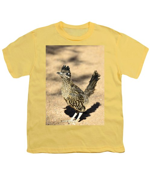 A Baby Roadrunner  Youth T-Shirt by Saija  Lehtonen
