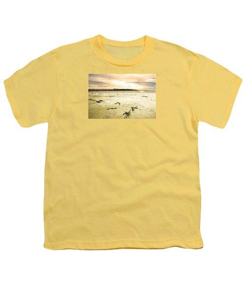 Youth T-Shirt featuring the photograph At Caroline Bay Timaru New Zealand by Nareeta Martin