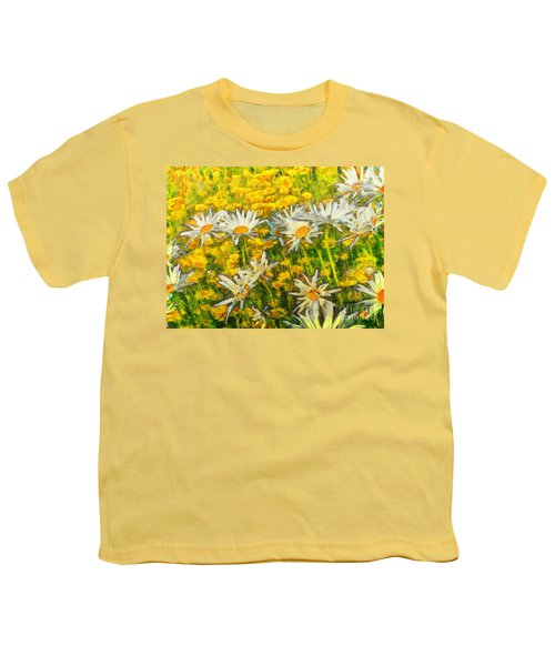 Field Of Daisies Youth T-Shirt