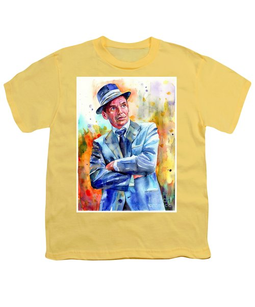 Frank Sinatra Young Painting Youth T-Shirt