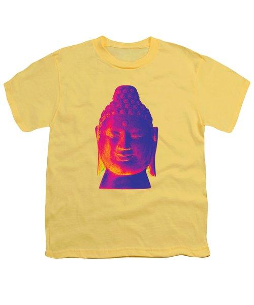 colorful Buddha - Borobudur Youth T-Shirt by Terrell Kaucher