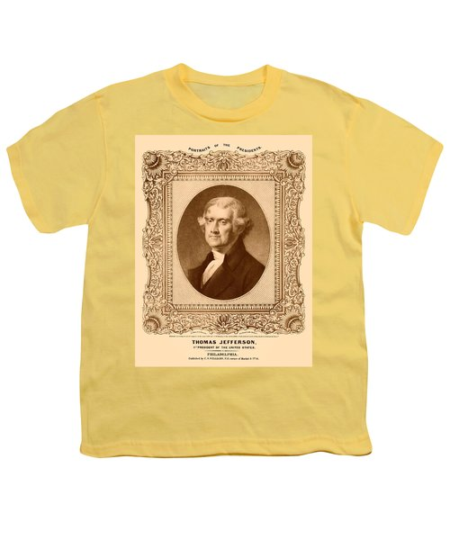 Thomas Jefferson Youth T-Shirt by War Is Hell Store