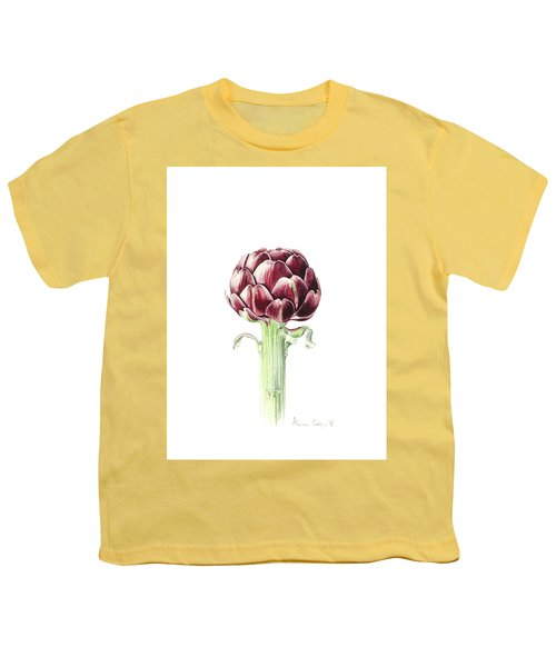 Artichoke From Roman Market Youth T-Shirt by Alison Cooper