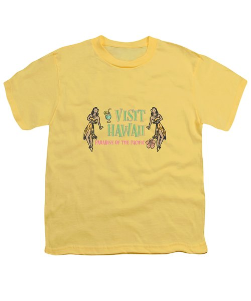 Visit Hawaii Youth T-Shirt by Little Bunny Sunshine