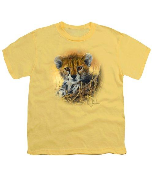 Baby Cheetah  Youth T-Shirt