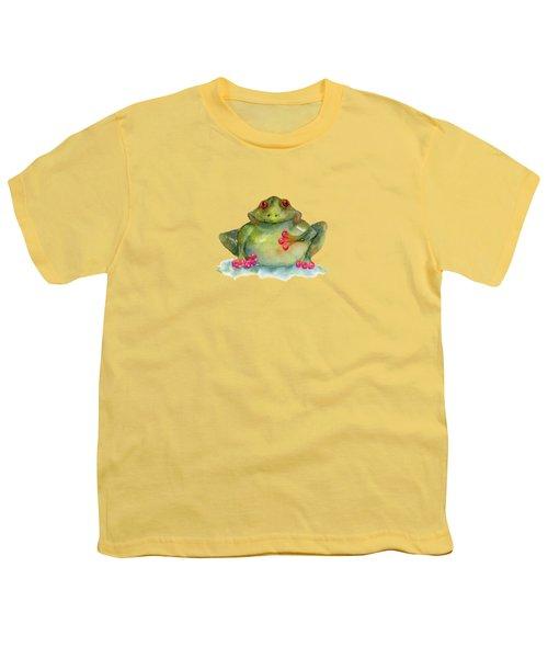 Be Still My Heart Youth T-Shirt by Amy Kirkpatrick