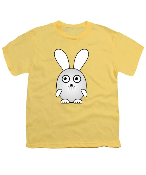 Bunny - Animals - Art For Kids Youth T-Shirt by Anastasiya Malakhova