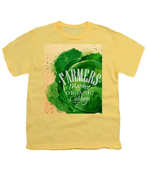 Cabbage Youth T-Shirt by Aloke Creative Store