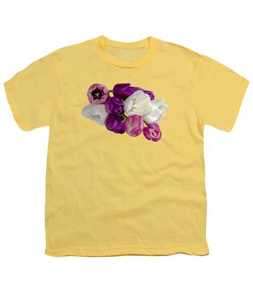Cascading Tulips Youth T-Shirt