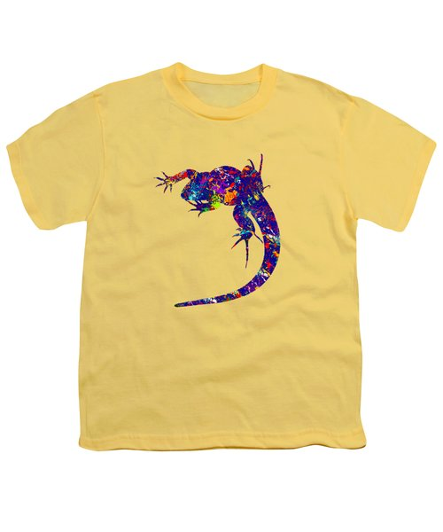 Colourful Lizard -2- Youth T-Shirt by Bamalam  Photography
