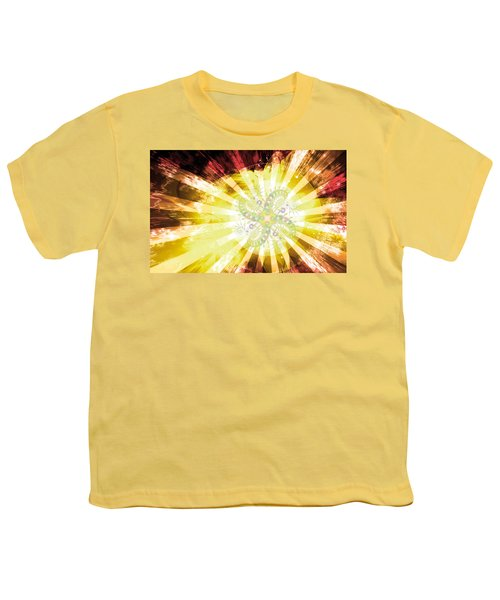 Cosmic Solar Flower Fern Flare 2 Youth T-Shirt