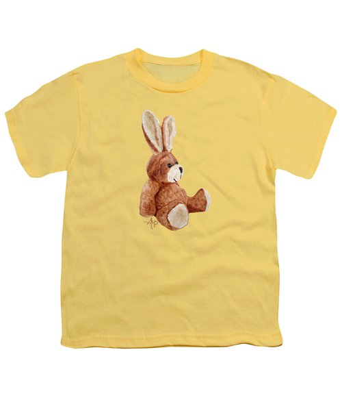 Cuddly Rabbit Youth T-Shirt by Angeles M Pomata
