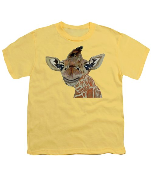 Cute Giraffe Baby Youth T-Shirt