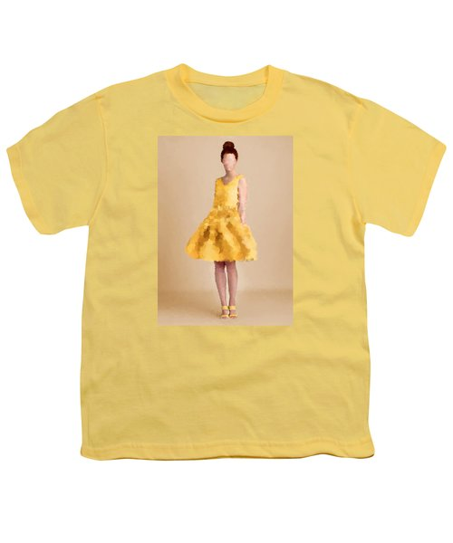 Youth T-Shirt featuring the digital art Emma by Nancy Levan