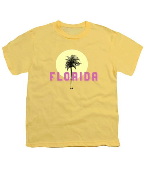 Florida Tee Youth T-Shirt by Edward Fielding