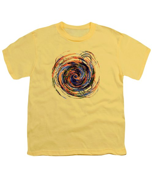 Gravity In Color Youth T-Shirt by Deborah Smith