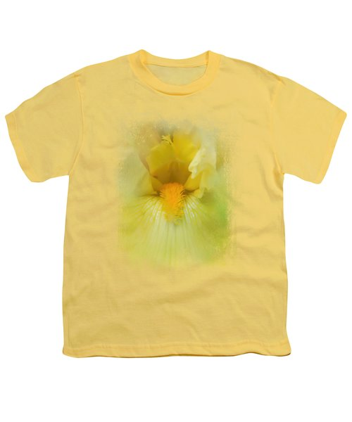 Iris In Lime Youth T-Shirt by Jai Johnson