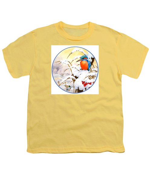 Kingfisher Plate Youth T-Shirt