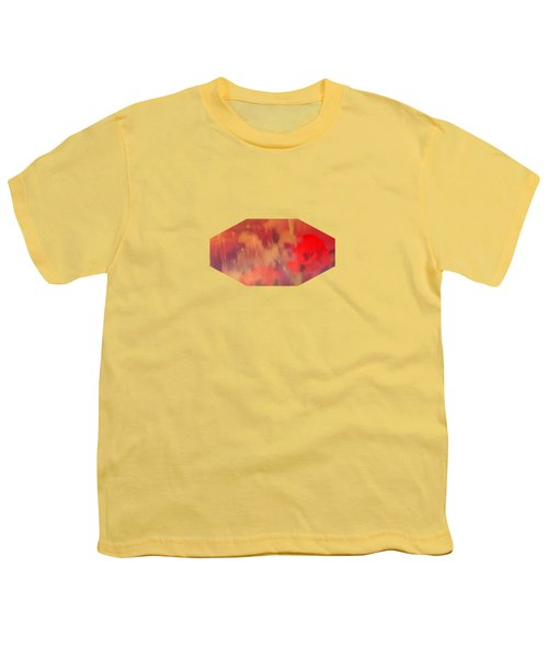 Landscape Of Dreaming Poppies Youth T-Shirt