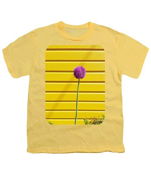 Lollipop Head Youth T-Shirt by Ethna Gillespie