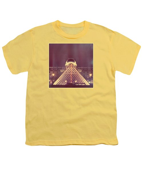 Louvre Palace And Pyramid Youth T-Shirt