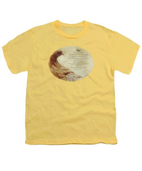 Lovely Lace - Verse Youth T-Shirt by Anita Faye