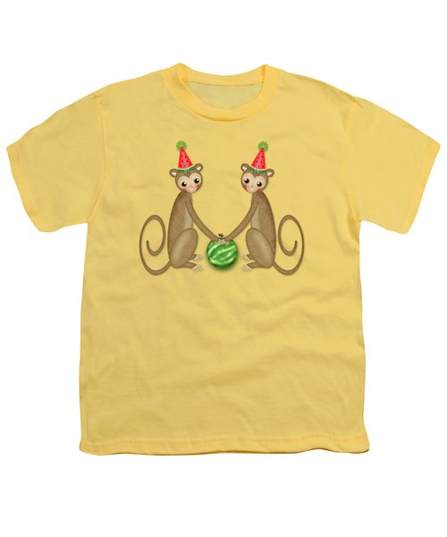 M Is For Monkeys Youth T-Shirt