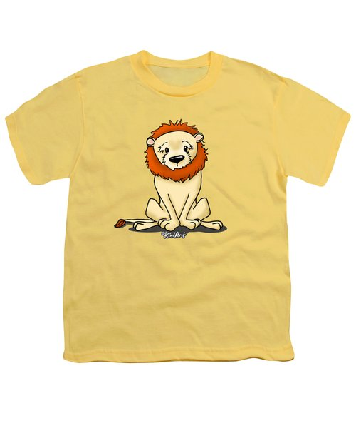 Lion Peaceful Reflection  Youth T-Shirt