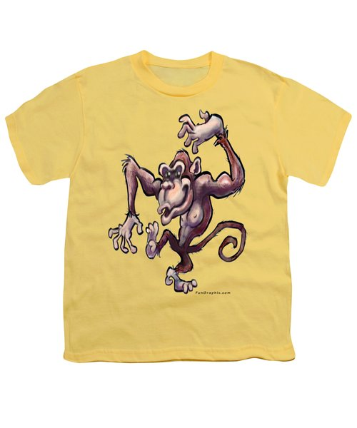 Monkey Youth T-Shirt by Kevin Middleton