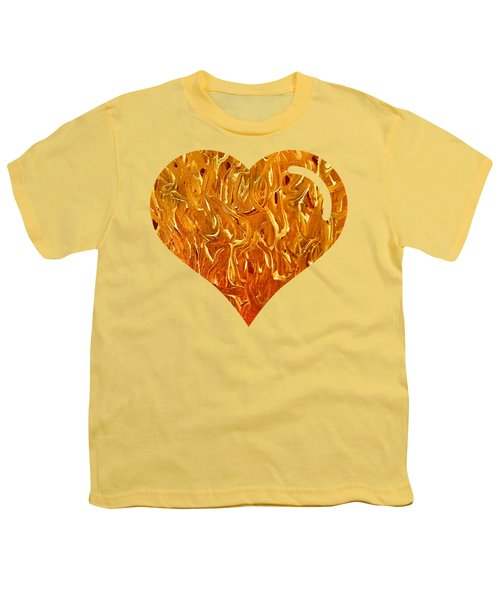 My Heart Is On Fire Youth T-Shirt