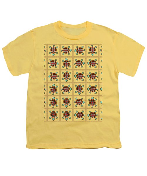 Native American Pattern Youth T-Shirt